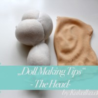 [:de]Vom Birnenkopf - Doll Making Tipps #2: Puppenkopf[:en]Of Sausageheads - Doll Making Tips #2: Doll Head[:]