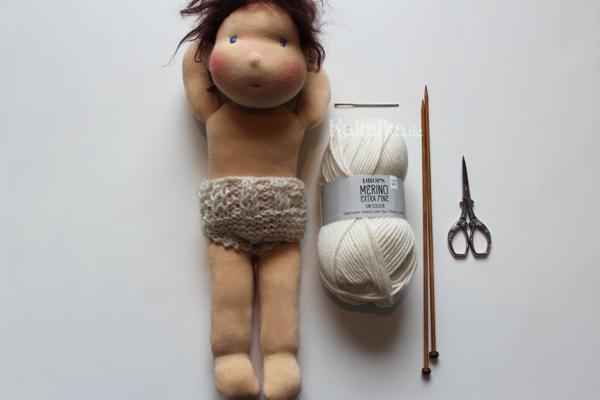 Strickanleitung Puppe Höschen