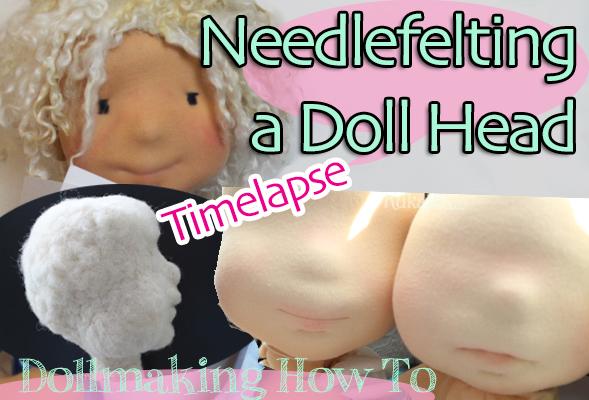 [:de]Von bewegt gefilzten Köpfen: Puppen filzen[:en]Of moved pictures: needlefelted dolls[:]