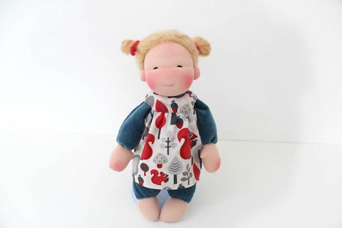 Minzelinchen Puppe