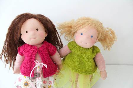 Muckelchen Waldorf Puppe