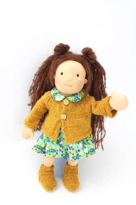 Berit Puppe nach Waldorfart