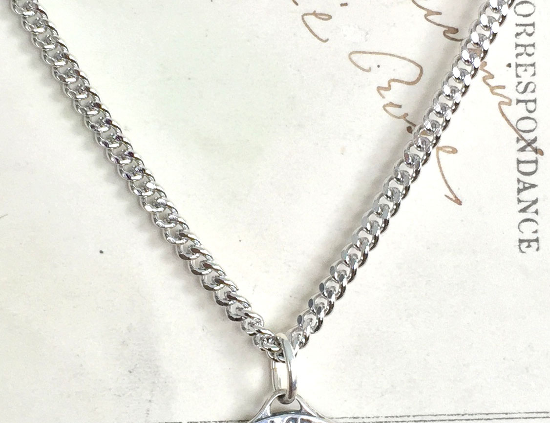 Stainless Steel Chain 30 Inch For Saint Medals Rosa