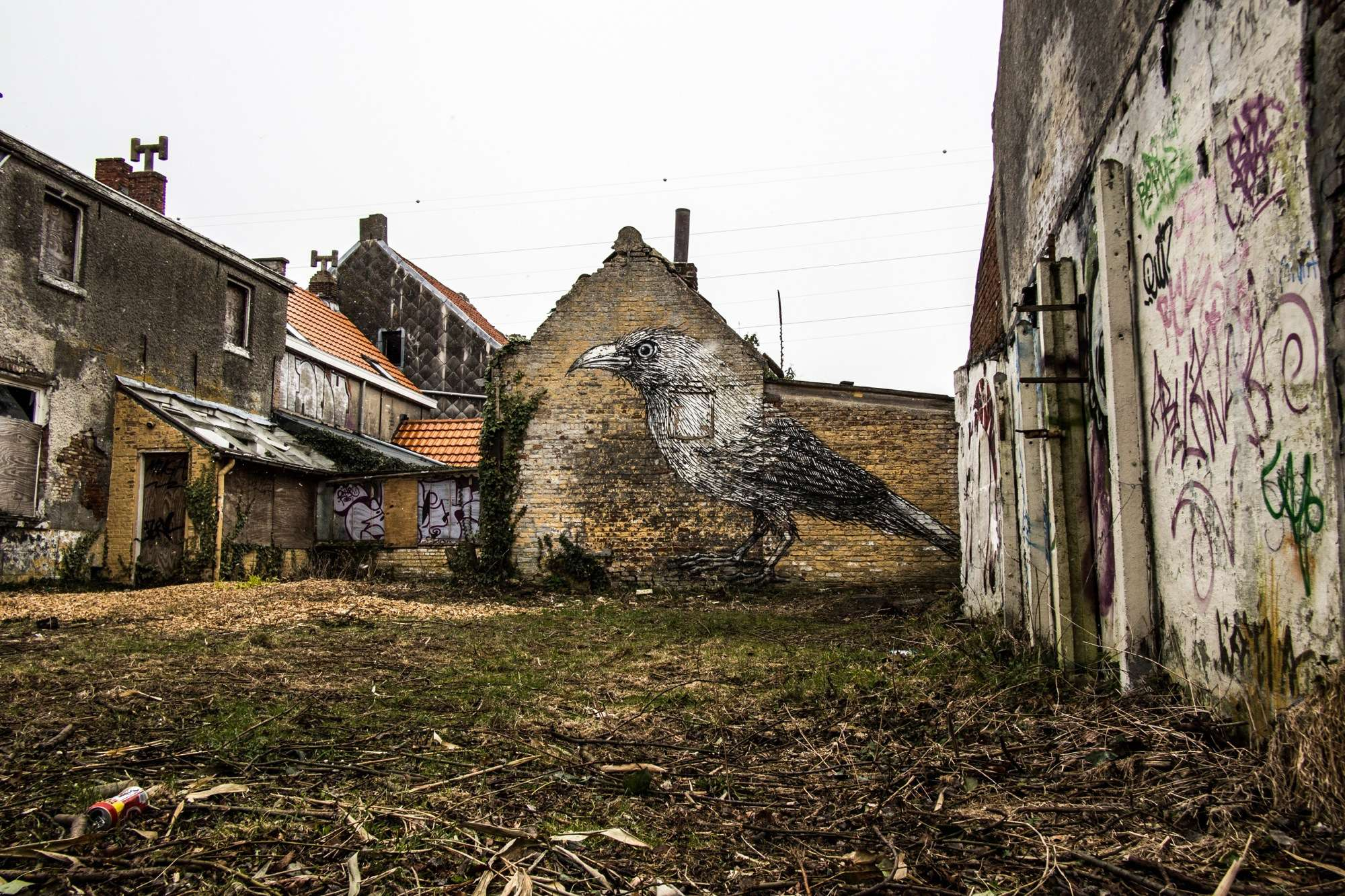 Rosanne Dubbeld Photography - Urban Exploration - Abandoned Village Doel, Belgium
