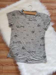Camiseta Gris Diamante
