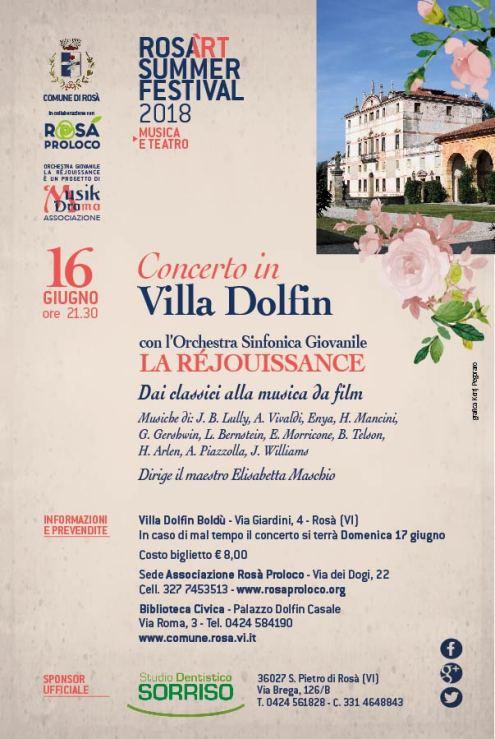 Cartolina Villa Dolfin_Retro