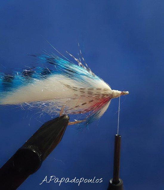 sjøørretfluer - Bindebeskrivelse Zonker Baitfish.