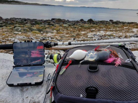 Bombarda er meget effektivt om du skal fiske sjøørret om vinteren.