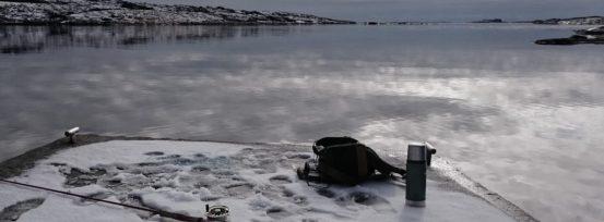 Fiske sjøørret om vinteren er utfordrende men meget morsomt. Her fra en tur rett før jul. Hvaler