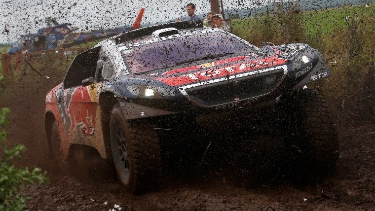 Loeb fue el más veloz entre Córdoba y Termas de Río Hondo.