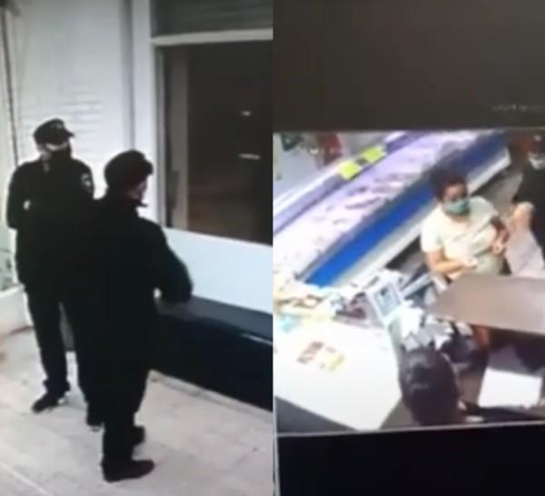 De la carnicería robaron 20 mil pesos, alhajas, documentación y cinco celulares.