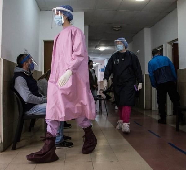 Caruana aseguró que el sistema de salud prestado es todo lo que hay.
