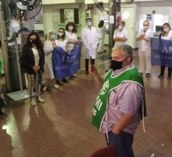 Los médicos nucleados en Amra rechazaron la propuesta del gobierno.