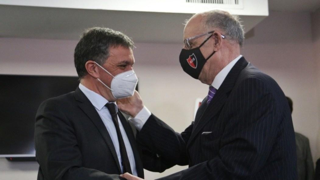 """Astore tomó el mando de Newell's de manos de Bermúdez: """"El problema no es deportivo, es dirigencial""""   Rosario3"""