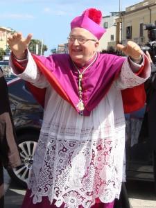 Mons. Giuseppe Fiorini Morosini, vescovo di Locri