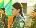 Donne soldato curde