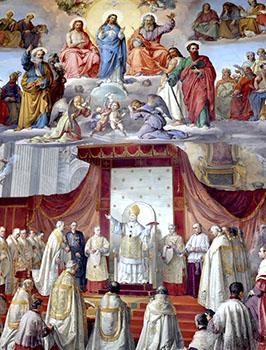 Fresco de la Inmaculada Concepción