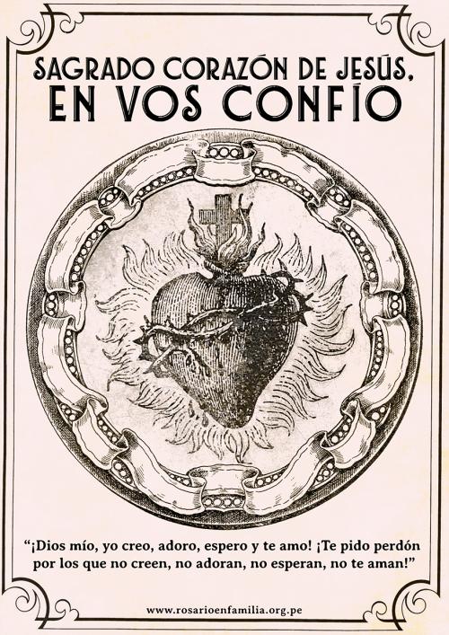 Poster Sagrado Corazon