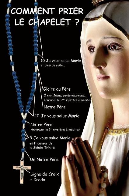 carte priere chapelet qualité