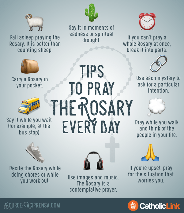 Church Pop 10 Simple Tips to Help You Pray the Rosary Every Day
