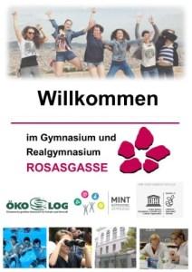 Titelbild der Informationsbroschüre der Schule
