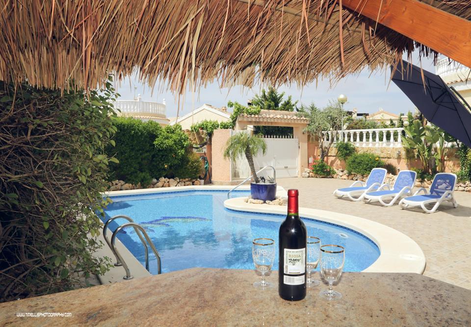 6 persoons Villa, prive zwembad, Monte y Mar, Gran Alacant, Santa Pola