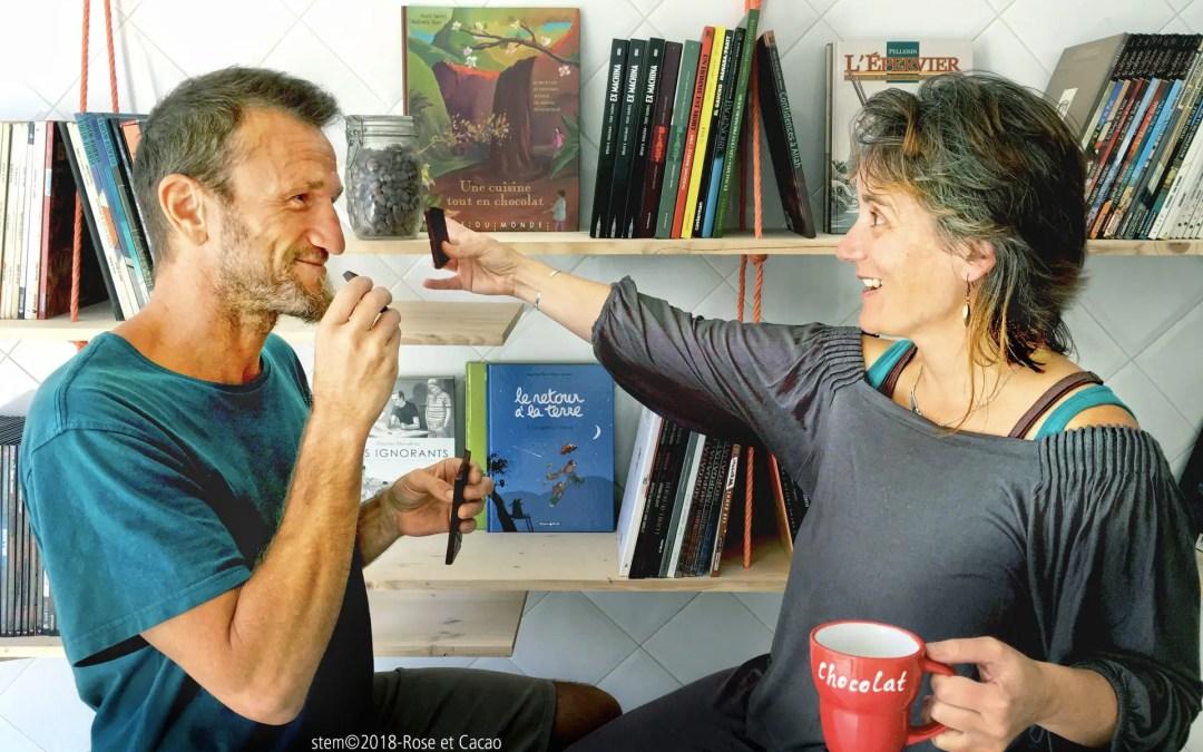 Rose & Cacao, une rencontre, une histoire de goût