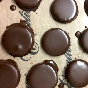bonbons bio enrobés de chocolat