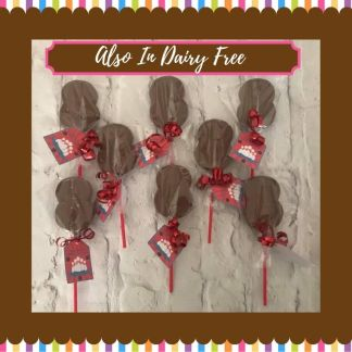 Chocolate Number Lollies 1-9