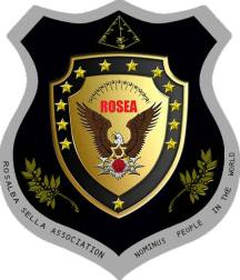 DOUBLE SHIELD LOGO PYRAMID ROSEA