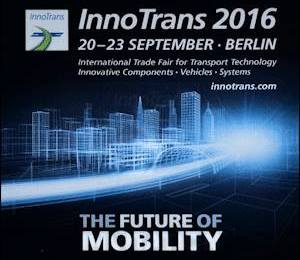 ROSEA - 20/23 - 09 - 2016 InnoTrans BERLIN - THE FUTURE OF MOBILITY - ROSALBA SIODŁO