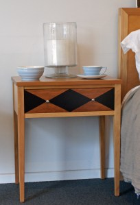 Newport Rose & Heather Bedside Cabinet