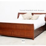 Bed boatbed sleigh NZ Rose and Heather