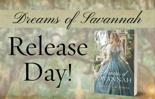 It's HERE! Dreams of Savannah Release Day