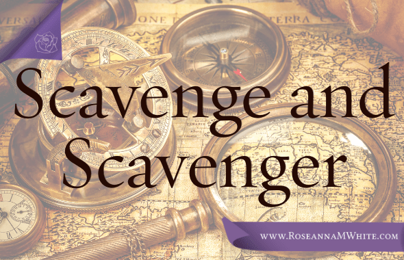 Word of the Week – Scavenge and Scavenger