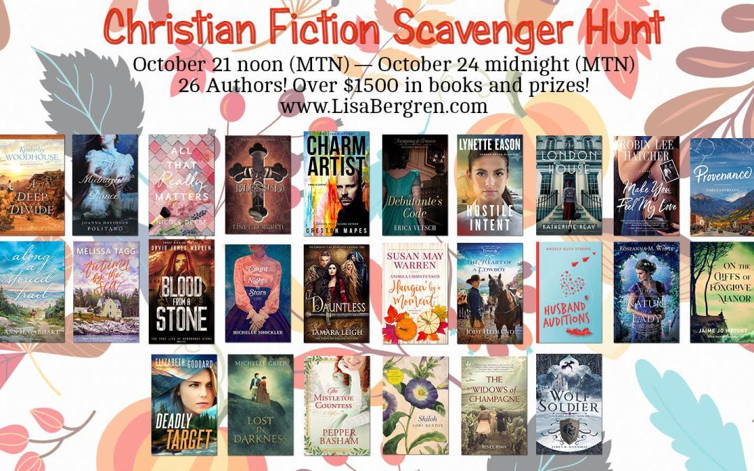 Christian Fiction Scavenger Hunt ~ Stop #17