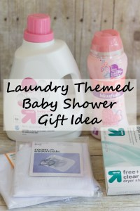 Laundry Themed Baby Shower Gift Idea | http://www.roseclearfield.com