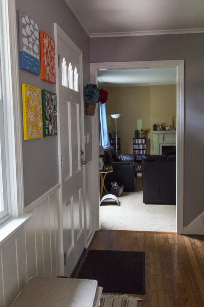Entryway Tour | https://www.roseclearfield.com