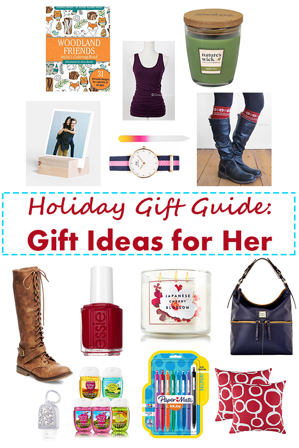Holiday Gift Guide: Gift Ideas for Her | http://www.roseclearfield.com