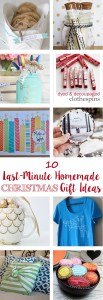 Last-Minute Homemade Christmas Gift Ideas | http://www.roseclearfield.com