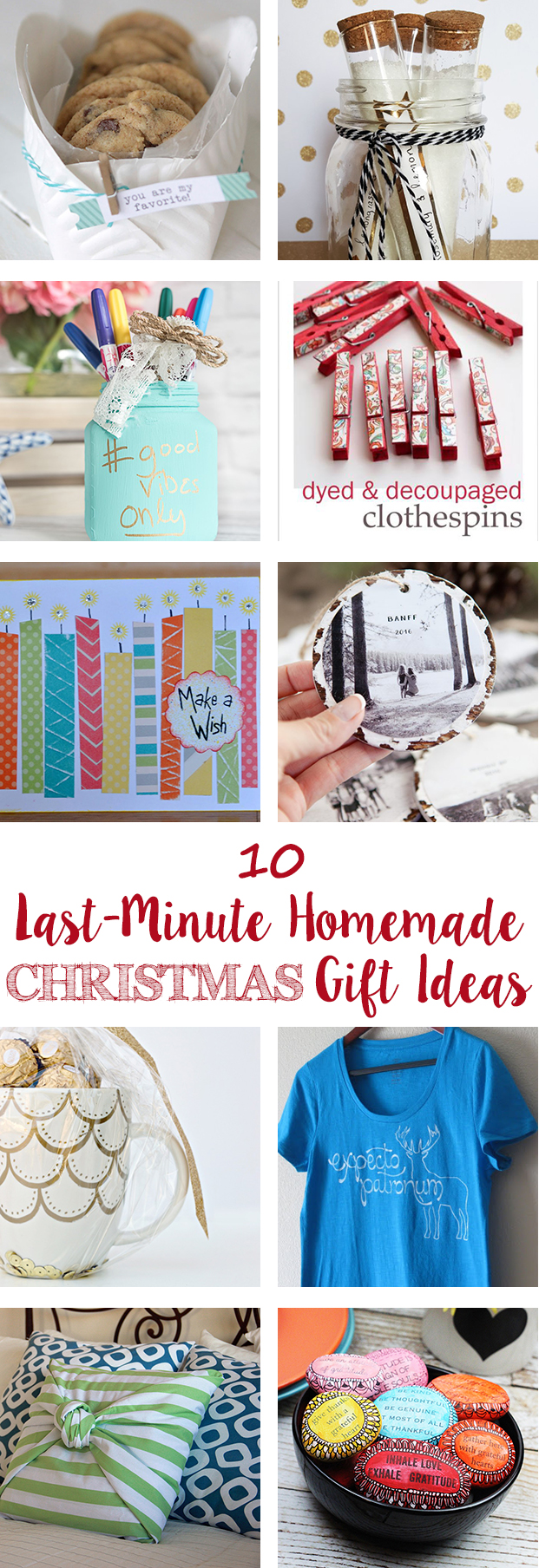 Last-Minute Homemade Christmas Gift Ideas • Rose Clearfield
