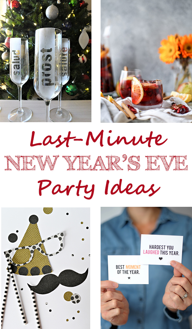 Last-Minute New Year's Eve Party Ideas • Rose Clearfield