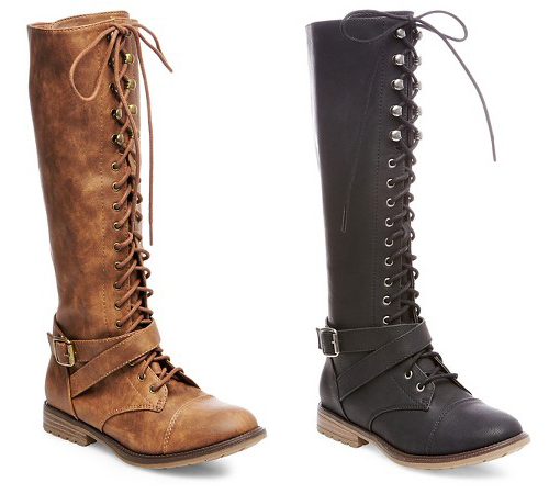 Holiday Gift Guide for Her - Target Women's Magda Lace Up with Full Zip Tall Boots | http://www.roseclearfield.com
