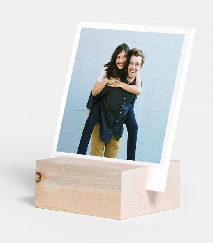 Artifact Uprising Wood Block + Prints...perfect holiday gift! | http://www.roseclearfield.com