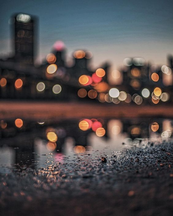 Bokeh City Lights in Pittsburgh, Pennsylvania by Lane Ramage @laneramage