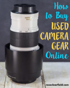 How to Buy Used Camera Gear Online | https://www.roseclearfield.com