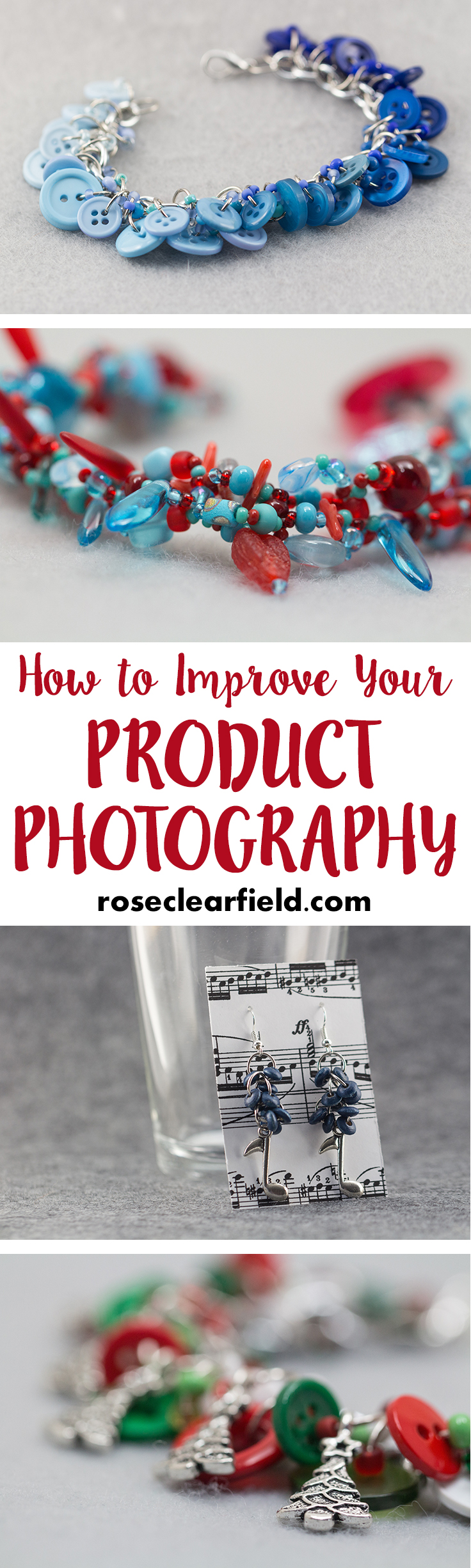 Product Photography Ebook Pinterest | http://www.roseclearfield.com