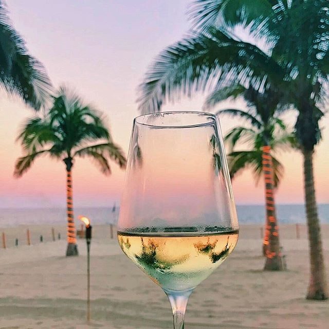 Wine in Los Cabos Mexico at Golden Hour by Kelsbrianne | http://www.roseclearfield.com