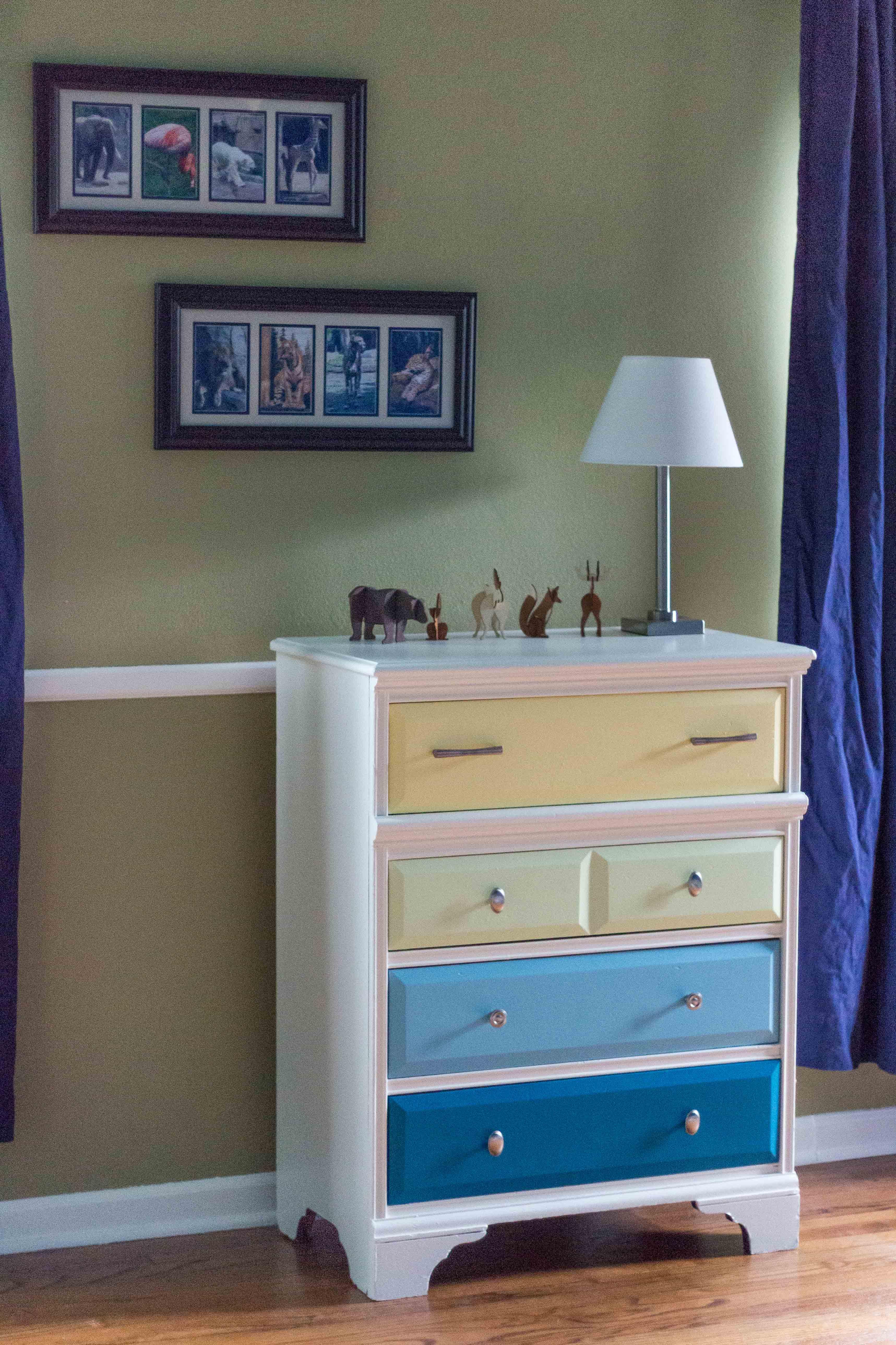 Nursery Dresser | http://www.roseclearfield.com