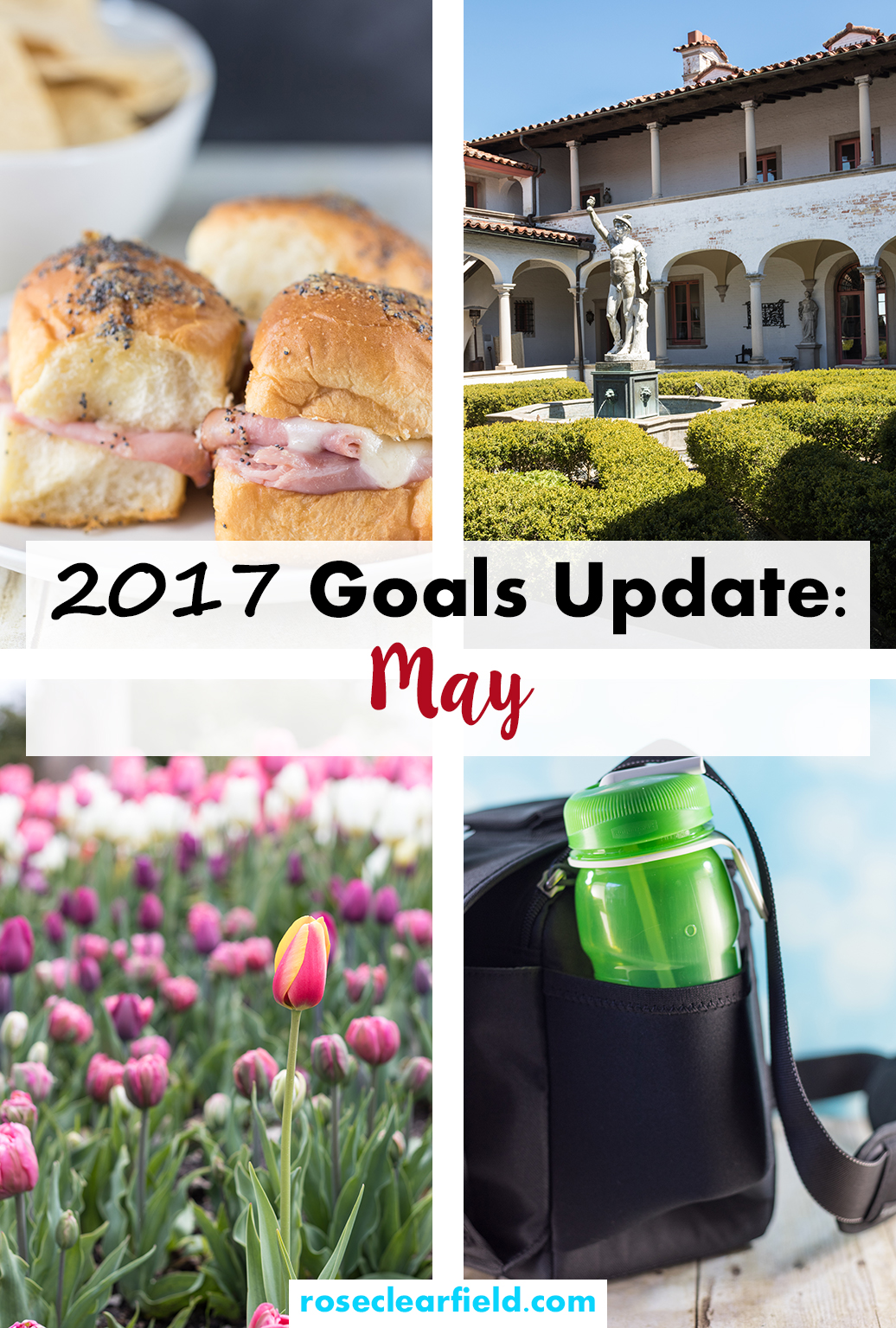 2017 Goals Update: May | http://www.roseclearfield.com